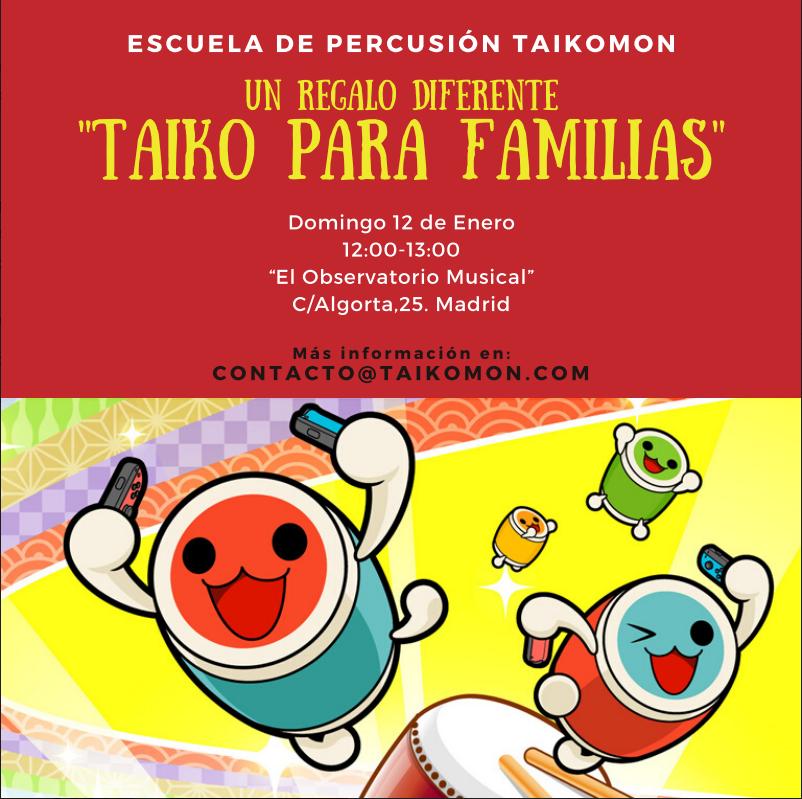 Taiko en familia