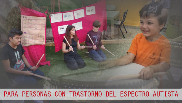 Proyecto TaikoMon para personas con TEA