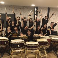 Muestra de alumnos junto a Keita Kanazashi 2017