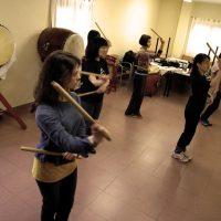 Workshop de hachijou con Chieko Kojima